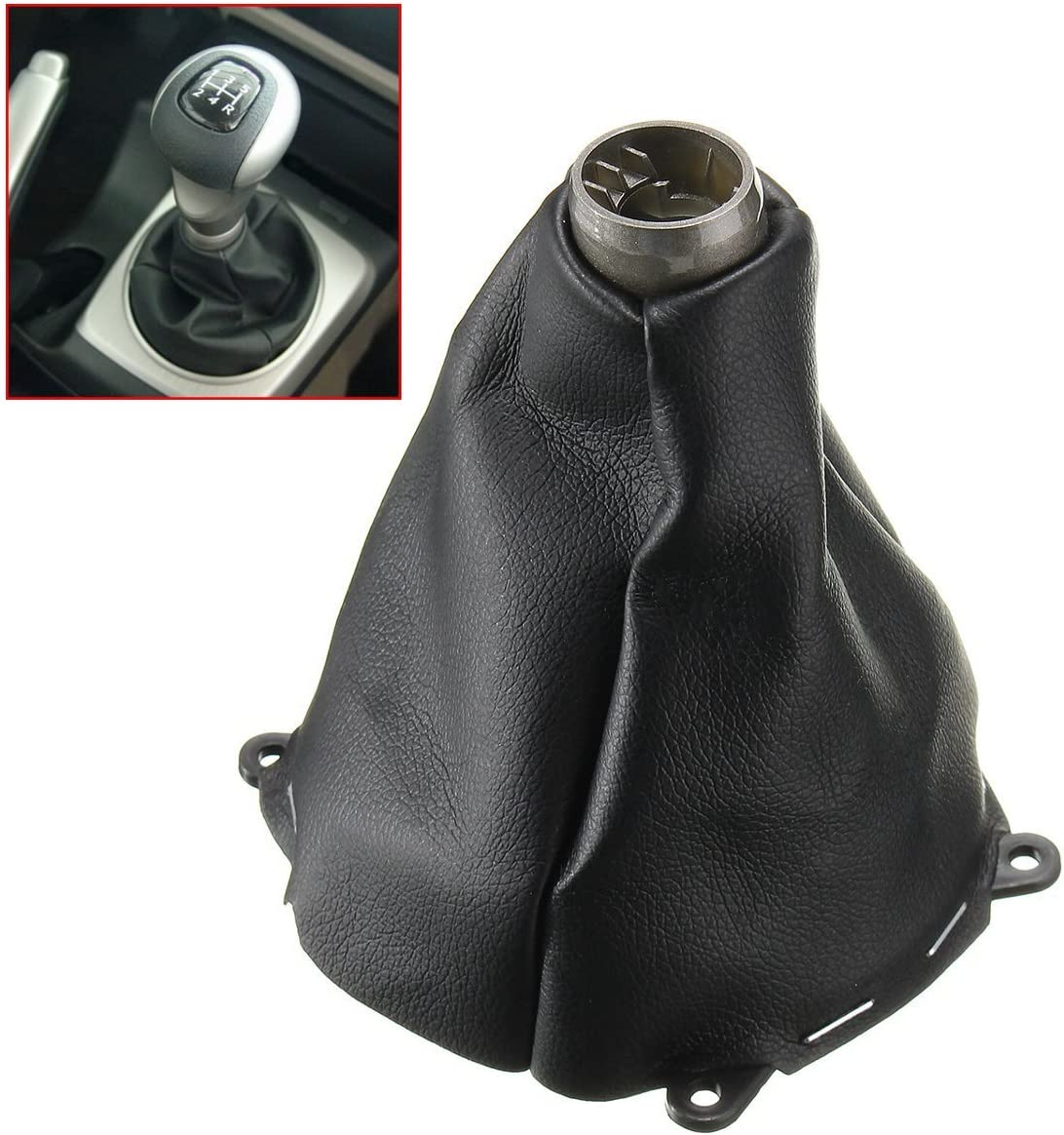 AutoE Car Manual Leather Gear Gaiter Shift Shifter Boot For Honda ...