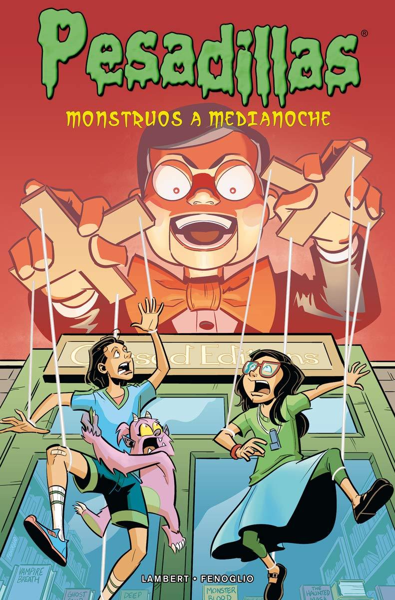 PESADILLAS: Monstruos a medianoche: Amazon.es: Lambert, Jeremy, Fenoglio, Chris, Díaz, Alberto: Libros