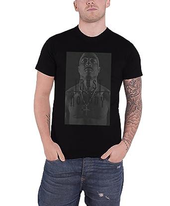 b863fc1a1f3 Amazon.com  Tupac T Shirt 2Pac Trust Nobody Logo All Eyez On Me ...