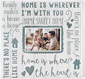 MCS MBI 13.5x12.5 Inch Home Sweet Home Scrapbook Album with 12x12 Inch Pages with Photo Opening (860129)