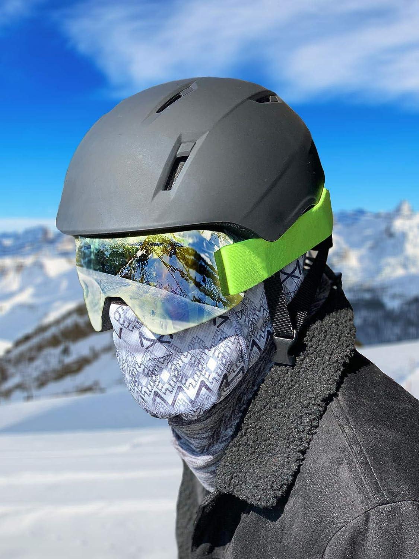 AEROSSI Balaclava with Neck Warmer Windproof Ski Mask Motorcycle Men Women