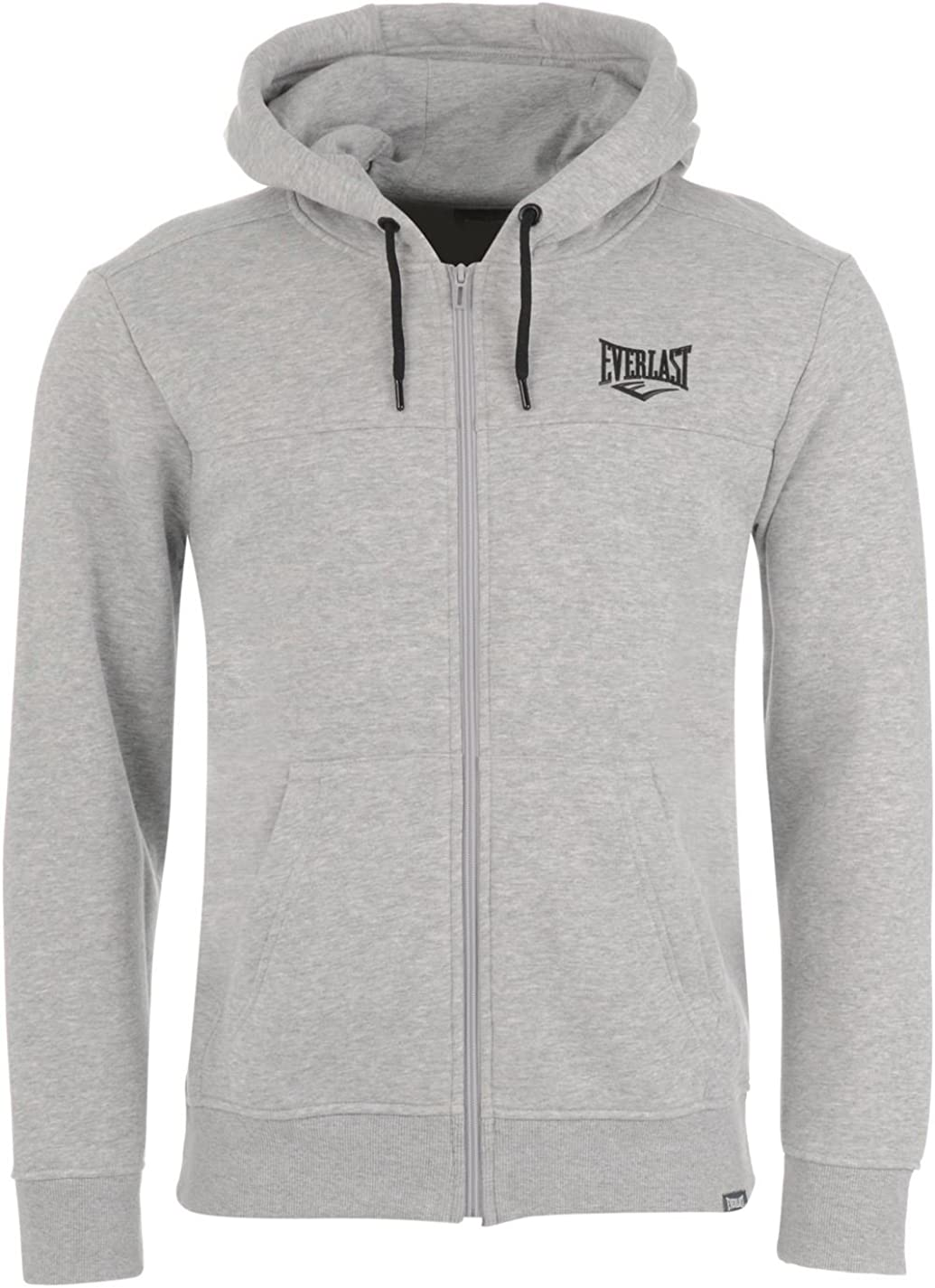 Everlast Zip Hoody Mens Gents Hoodie Hooded Top Zipped Warm Drawstring