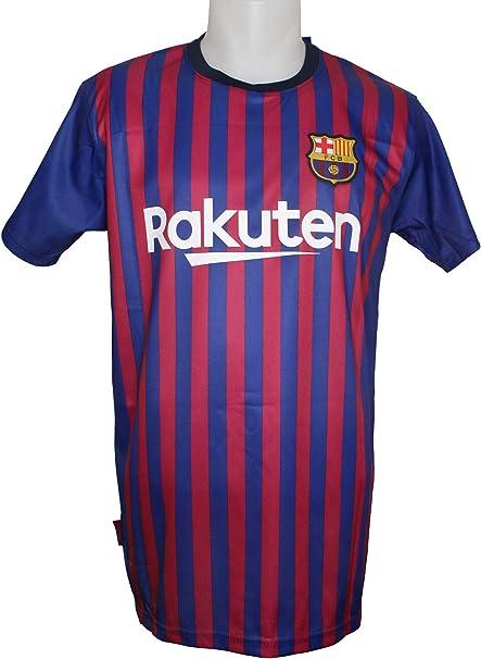 FC. Barcelona Camiseta Réplica Adulto Primera Equipación 2018/2019 ...