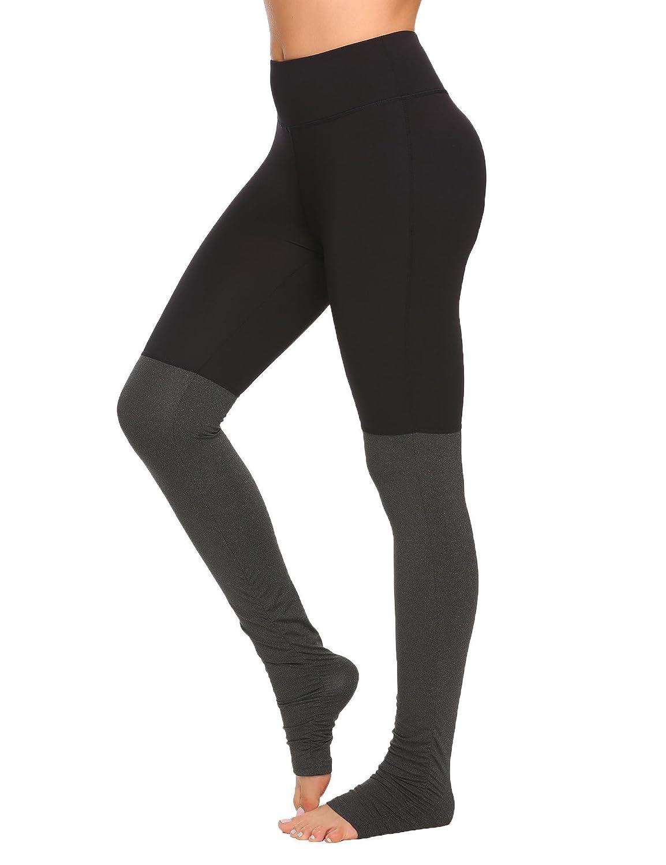 4cfb05e2bde8c7 Amazon.com: COORUN Women's Workout Leggings Running Tights Yoga Pants Dark  Grey/Black Medium: Clothing