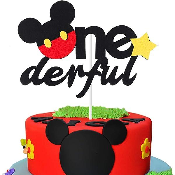 Amazon.com: Mickey Mouse - Kit de decoración de primer ...
