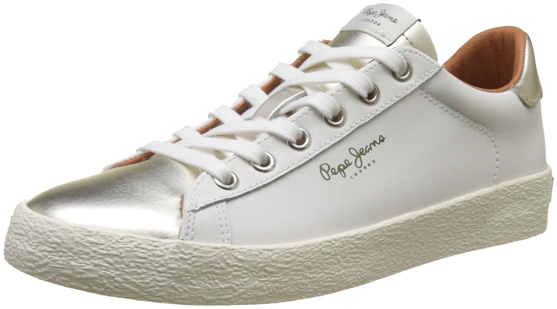 Pepe Jeans Damen Portobello Gold W Sneaker Gold Portobello (Gold) 51c533