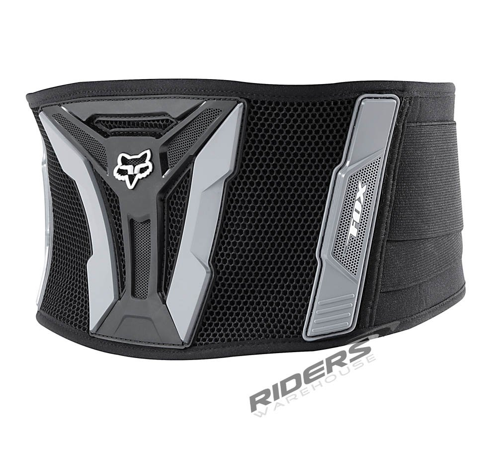 FOX TURBO BELT BLACK/GRAY 28-36 by Fox Racing
