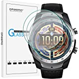 (4 Pack) Orzero For Ticwatch Pro 4G, Ticwatch Pro, Ticwatch Pro 2020 Smartwatch Tempered Glass Screen Protector, 2.5D…