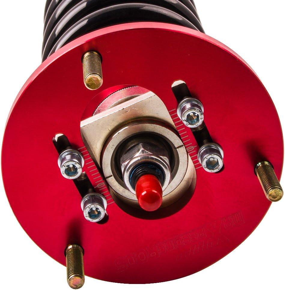 318i M3 323ci 328ci 320ci Red 330ci 323i 320i 325ci 318ci 325i Coilovers with Adjustable Damper for BMW E46 1998-2006 3 Series 316i 328i 330i 316ci