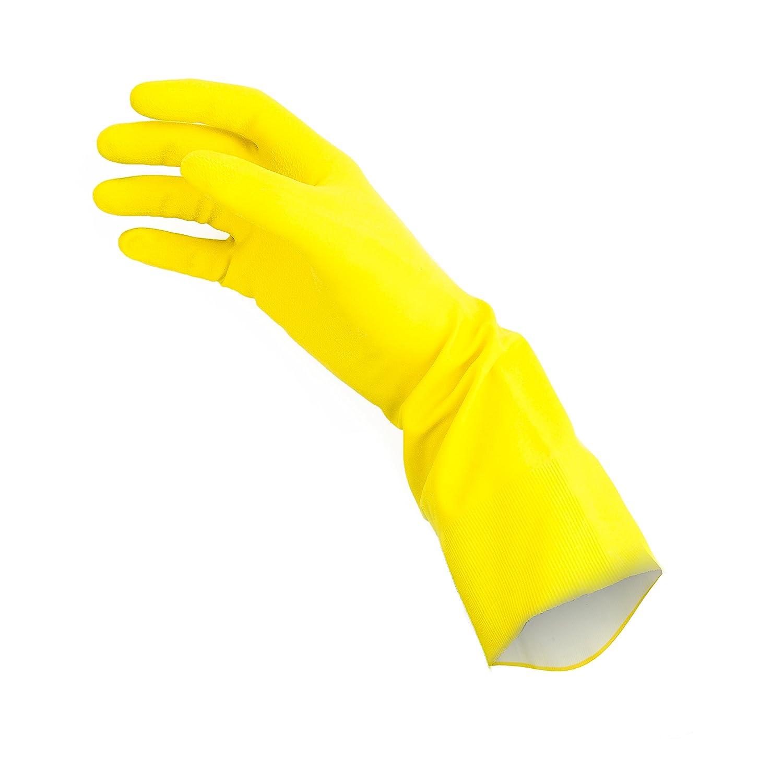 LARGE PACK OF 4 PAIRS Soft Scrub Premium Defense Handsaver Natural Rubber Latex Gloves