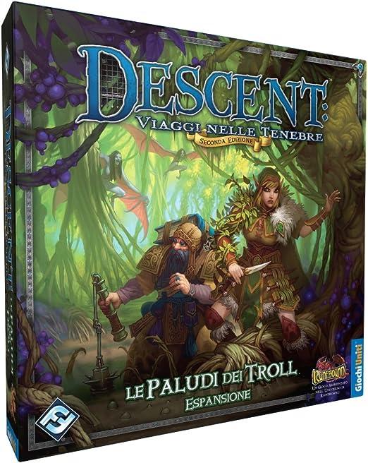 Giochi Uniti Descenso. Le Paludi dei Troll. [Espansione por Descent].: aa.vv.: Amazon.es: Juguetes y juegos
