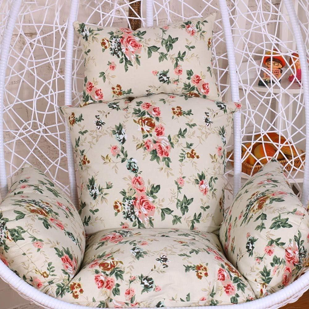 C Amaca Rimovibile per Patio Esterno Coperto Multi Colore HAOT Amaca Sedia Cuscini,Cuscini pensili per sedie a Dondolo