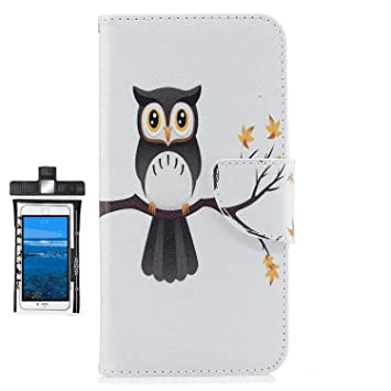 Cover for Samsung Galaxy S9 Plus Leather Extra-Shockproof Business Card Holders Wallet Cover Kickstand with Free Waterproof-Bag Black6 Samsung Galaxy S9 Plus Flip Case