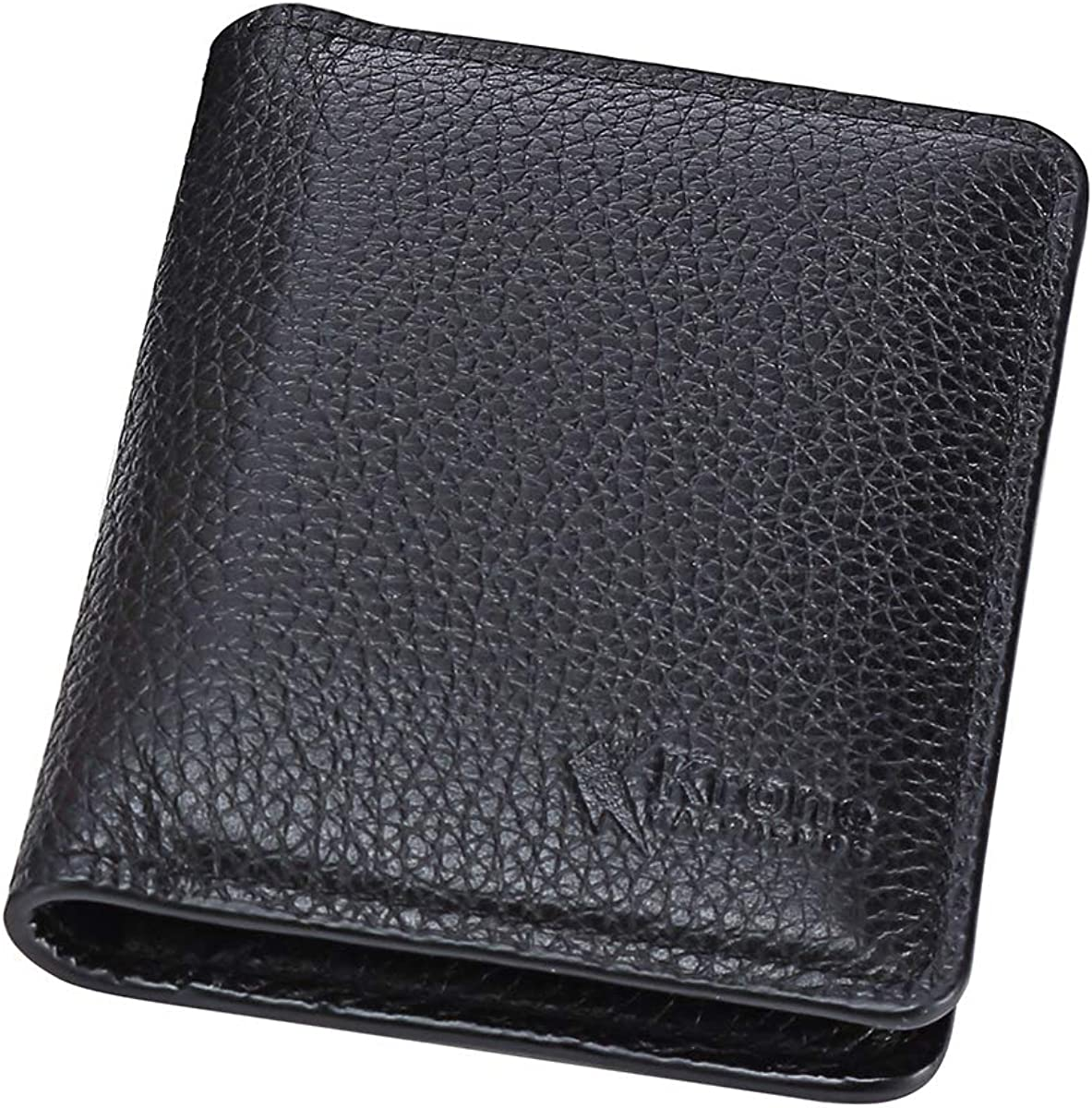 Men Crocodile Print on GENUINE LEATHER Minimalistic Slim RFID Blocking Wallet