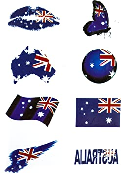 Sticker Decal Vinyl Car Laptop Macbook Australian Australia Map Flag Car Decor