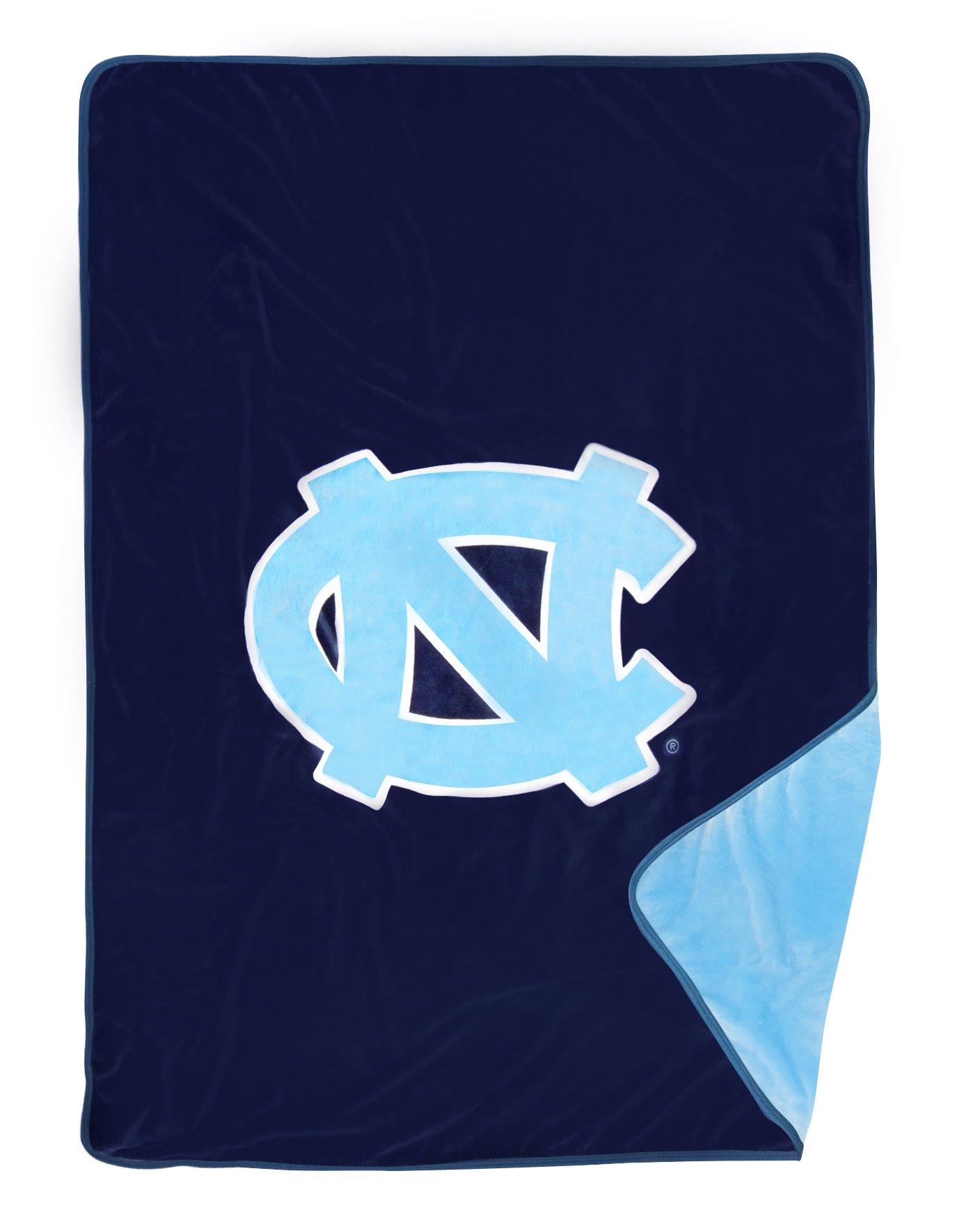 Dormitory 101 New to Market! UNC Chapel Hill Tar Heels Premium Plush Fleece Blanket - 60''X80''