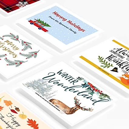 amazon com avery printable holiday invitation cards for laser