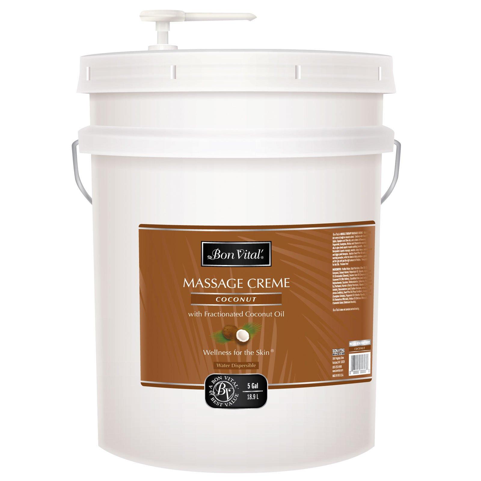 Bon Vital BVCOC5G Coconut Creme, 5 Gallon by Bon Vital