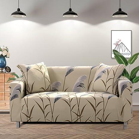 Lamberia Funda de sofá Estampada elástica para sofás y ...