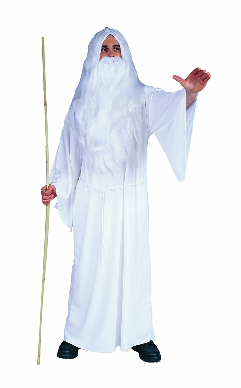 RG Costumes Men's White Wizard adult costume tunic Gandalf lord of the rings