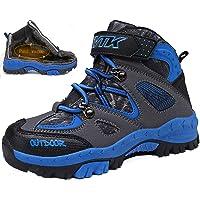 VITIKE Chaussures en Coton pour Enfants Bottes de Neige d'hiver Chaussures de randonnée Garçon Walking Trekking léger Outdoor Sporty Shoes Bottes d'escalade
