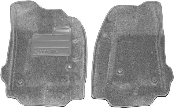 Set of 2 Lund 583044-G Catch-It Carpet Grey Front Seat Floor Mat