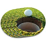 Golf Ball and Hole Golfing Coaster Set