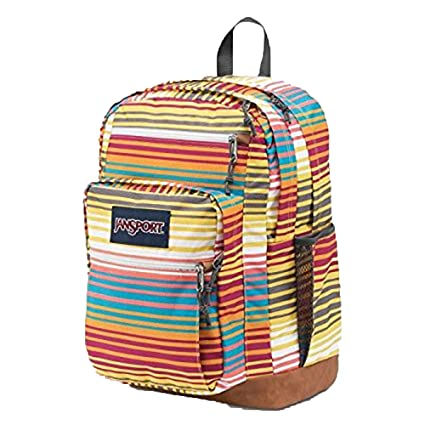 d0541f4b427b Amazon.com  JanSport Unisex Cool Student Multi Sunset Stripe ...