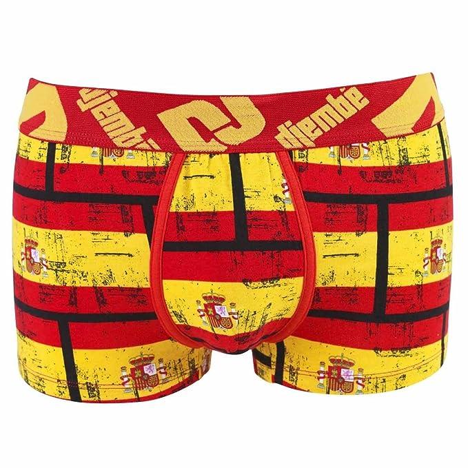 pomm pera – Boxer Estampado Bandera España by Djembe – Hombre Large