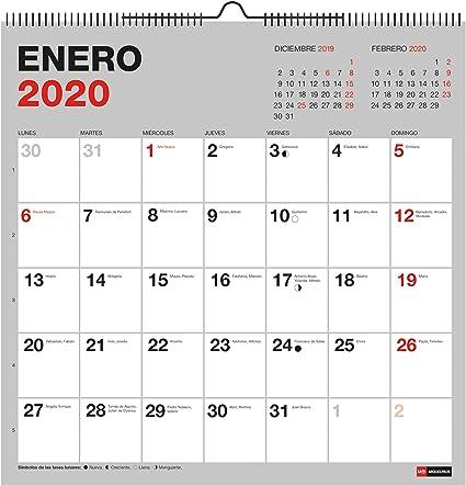 Miquelrius 28034 - Calendario de Pared 300 x 300 mm para escribir ...