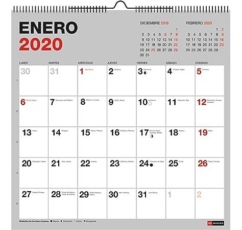 Miquelrius 28354 - Calendario de Pared A3 para escribir Flores ...