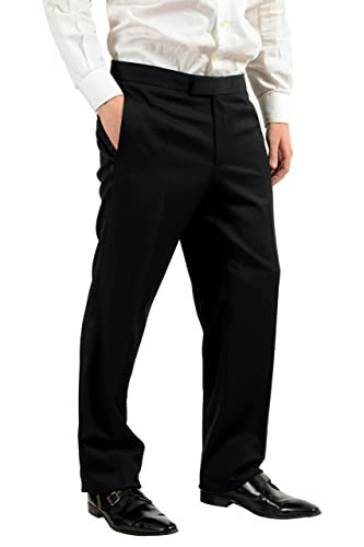 Amazon.com: hugo boss Caiden/glamzus para hombre 100% lana ...