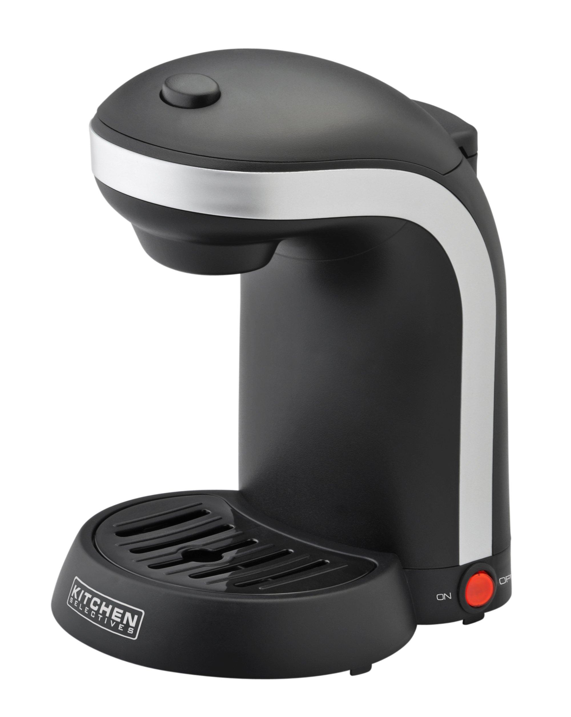 Kitchen Selectives CM-680 Single Serve Coffee Maker, Black by Kitchen Selectives
