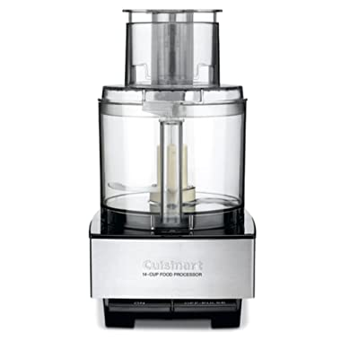 Cuisinart DFP-14BCNYAMZ Custom 14 Food Processor Brushed Metal Series, , Stainless Steel