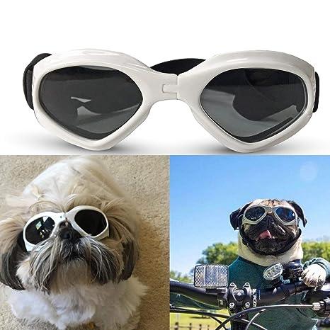 SHUIBIAN Gafas de Sol Perros, para Mascotas, Resistentes al ...