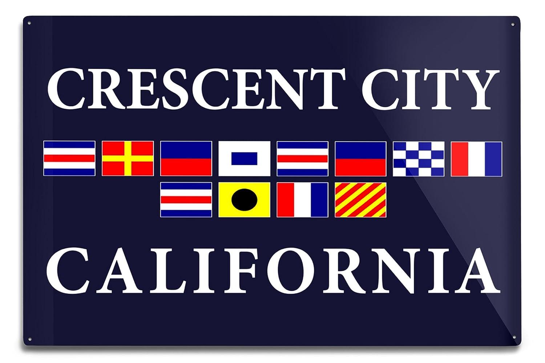 【超特価SALE開催!】 Crescent City Metal、カリフォルニア – Nautical Flags 12 x B06Y1JKKLX 18 18 Metal Sign LANT-32852-12x18M B06Y1JKKLX 12 x 18 Metal Sign, 進之助の日本焼酎紀行:198032c2 --- 4x4.lt