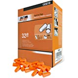 DuraDrive Disposable Pre-Shaped Foam Earplugs, NRR 32 dB, Orange, 200 Pairs/Box