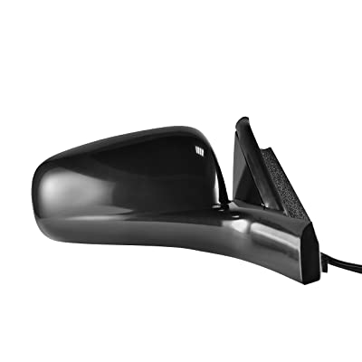 Passenger Side Mirror Replacement for 2000-2005 Chevrolet Impala - Power Operated, Unpainted, Non-Folding - GM1321218: Automotive