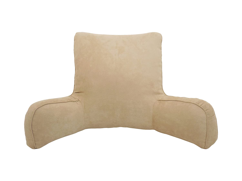 Amazon: Arlee Suede Oversized Bedrest Lounger, Brush: Home & Kitchen