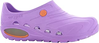Oxypas Oxyva Lightweight, scarpe per personale sanitario, leggere, antiscivolo, in etilene vinil acetato (EVA); assorbono gli urti e supportano la postura, Viola 37/38