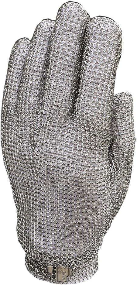 resistentes a los cortes para la cocina carnicer/ía de trabajo de seguridad Guantes de malla de acero inoxidable Ansel
