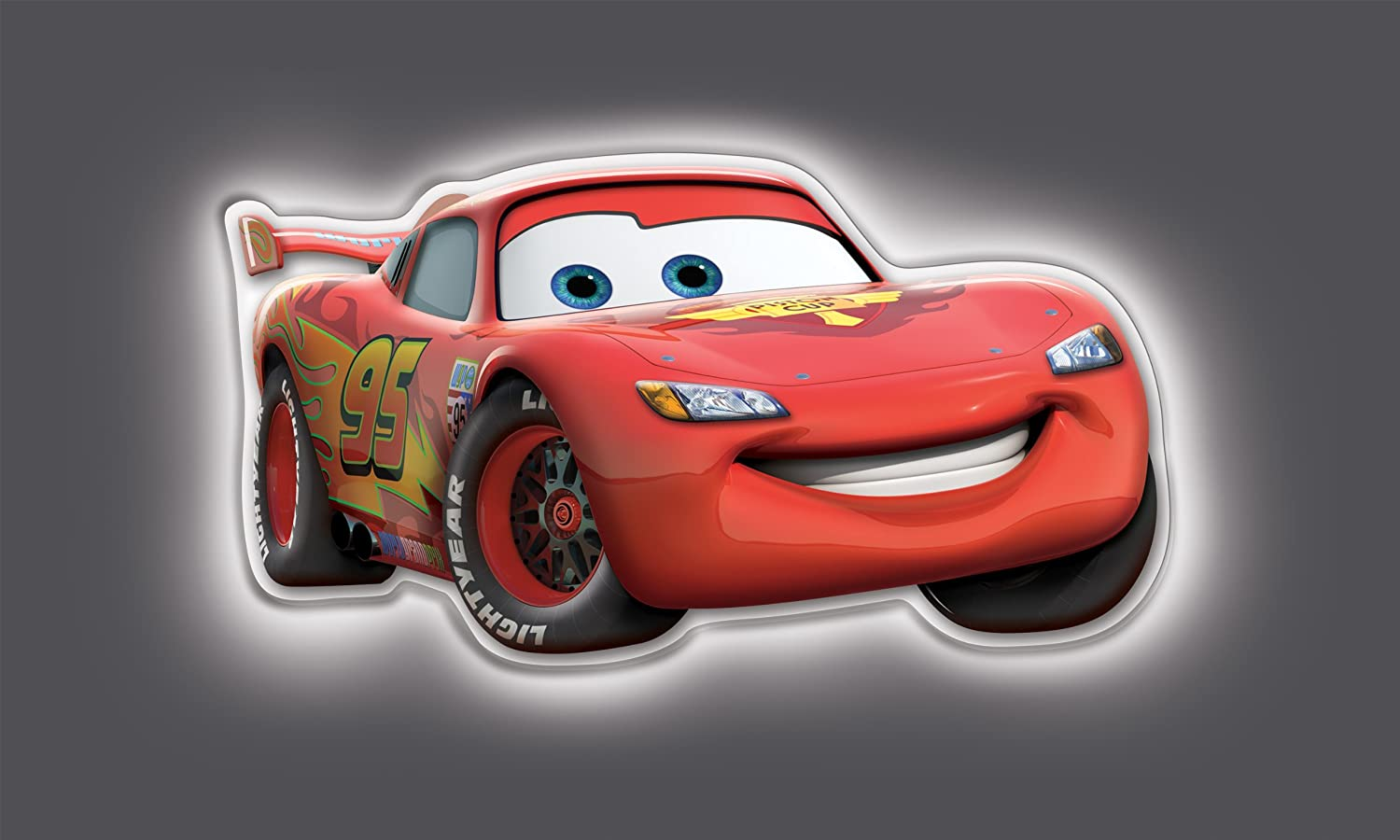 Amazon.com Uncle Milton - Wall Friends - Lightning McQueen Toys u0026 Games & Amazon.com: Uncle Milton - Wall Friends - Lightning McQueen: Toys ... azcodes.com