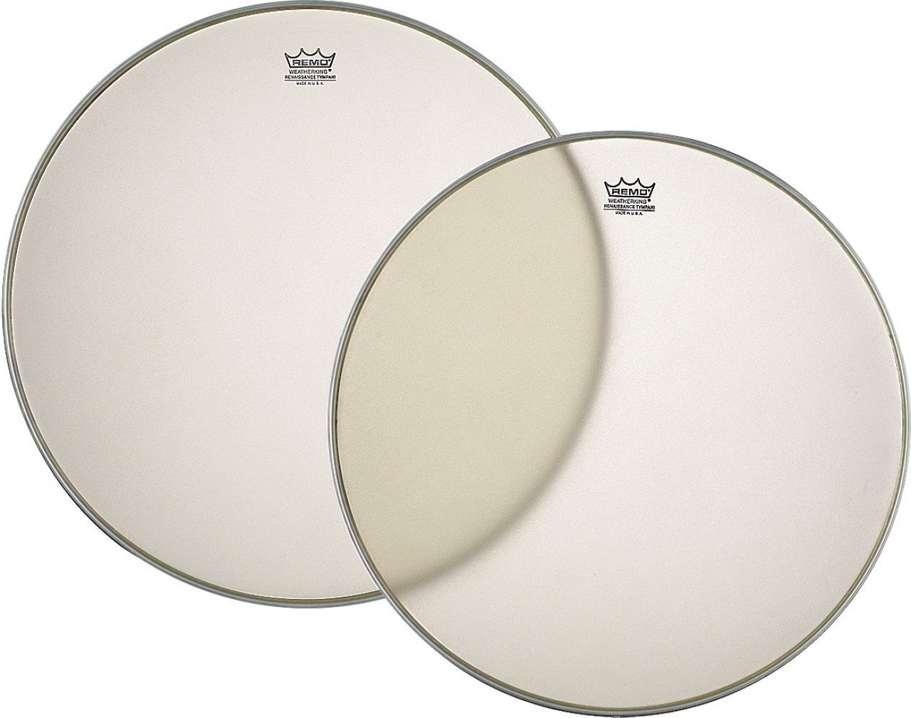 Remo RC2600-RS 26-Inch Custom Clear Renaissance Timpani Drumhead - Aluminum Insert Remo Inc. 2638