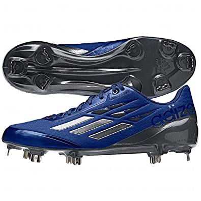 new concept 55d98 06935 adidas Adizero Afterburner Mens Baseball Cleat 7.5 Royal-White-Carbon Met