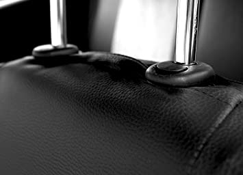 Sitzbez/üge Auto Universal Set Autositzbez/üge Schonbez/üge Schwarz Vordersitze und R/ücksitze mit Airbag System Superior