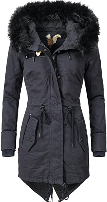 5 Khujo Veste en Couleurs Coton Dame d'hiver Dorota XXL XS pour D9e2bHWEIY