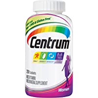 Centrum Women (200 Count) Multivitamin/Multimineral Supplement Tablet, Vitamin D3