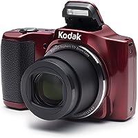 Kodak Pixpro FZ201RD, Kompakt Kamera, Kırmızı