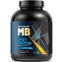 MuscleBlaze Whey Protein, 2 kg, Rich Milk Chocolate