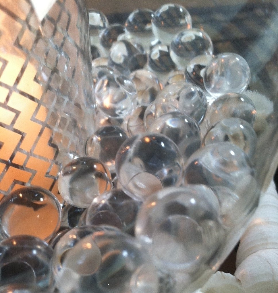 Amazon vase filler pearls for floating pearl centerpiece 50 1000pc transparent water absorbing gel beads used for floating pearls and vase fillers pearls not reviewsmspy